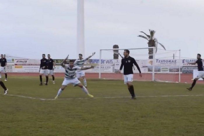 Τίμια επεισόδια στο Παναργειακός - Καλαμάτα. Αυτό είναι το ποδόσφαιρο που αγαπάμε.