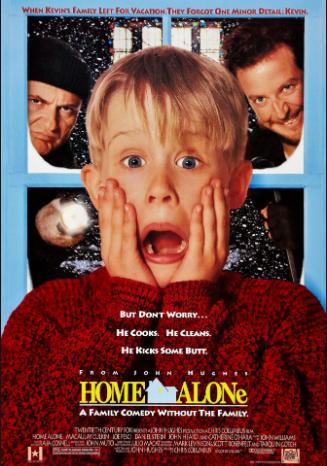 Χριστούγεννα σημαίνει Home Alone