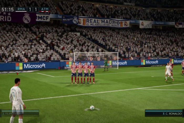 Free-kicks σε PES και FIFA από το 94 μέχρι το 2020