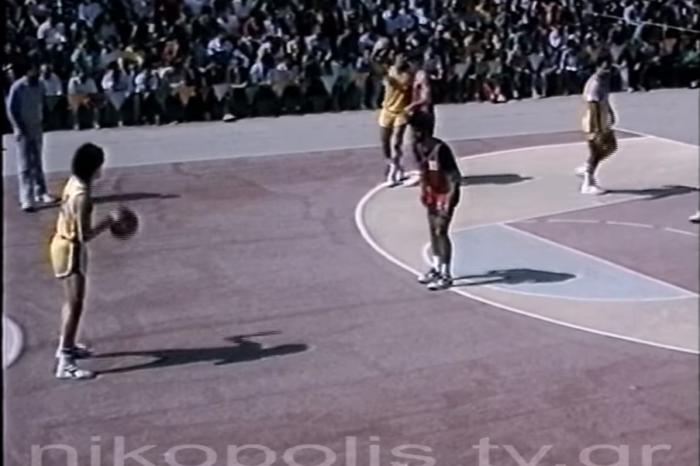 Video διαμάντι: Αγώνας μπαράζ στην Πρέβεζα το 1988