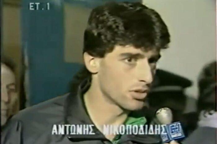 Όταν ο Νικοπολίδης είχε πονοκέφαλο, τον πονούσε το κεφάλι του